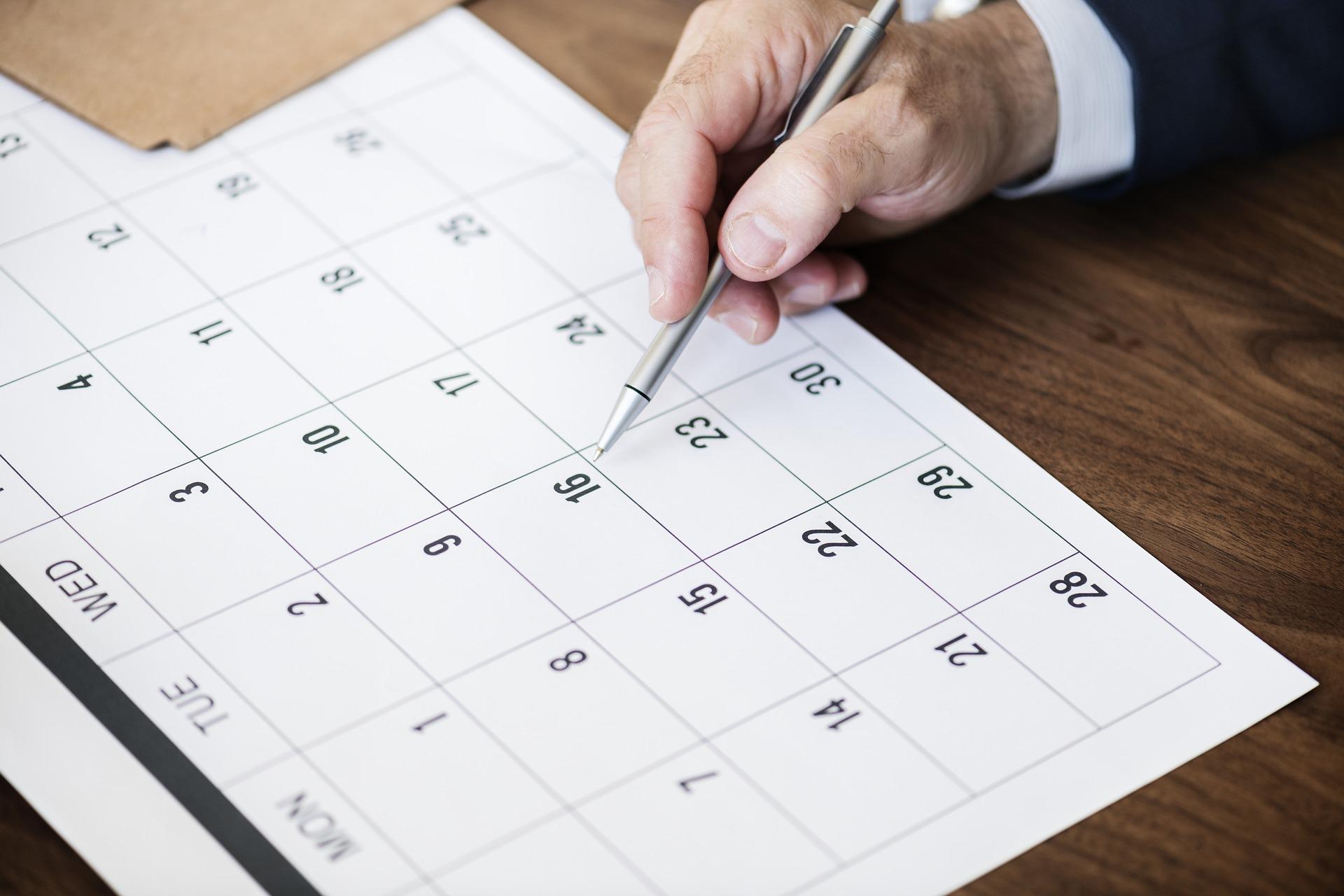 Alle Veranstaltungen - Monatsübersicht