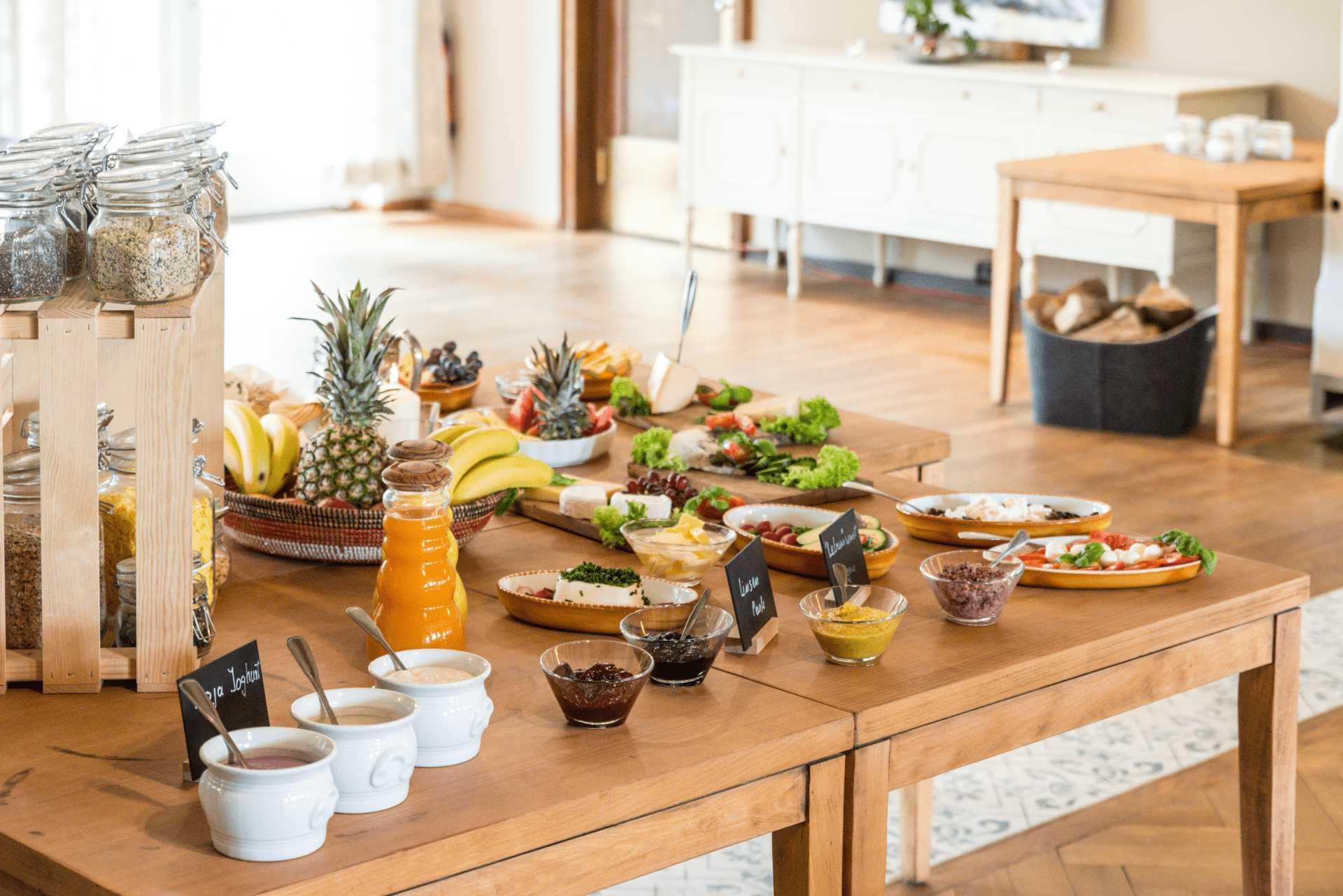 veganes frühstück bio hotel allgäu