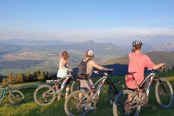 Mountainbikes-Biketour-Ebikes-Ammertal